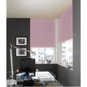 Миниролло Blackout розовый кварц