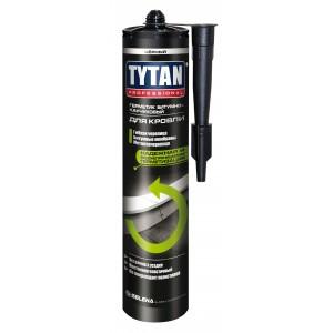 """Герметик кровельный битумно-каучуковый """"Tytan Professional"""" черный 310 мл"""