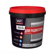 Эмаль для радиаторов в/д VGT глянцевая супербелая Профи 1 кг