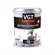 Краска для потолков и стен сияющая белизна iQ103
