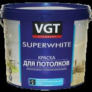 Краска для потолков «Супербелая» ВД-АК-2180