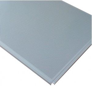Кассетный потолок AP600 Line (Board) металлик матовый А906 rus Эконом перф.