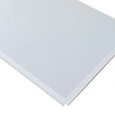 Кассетный потолок AP600 Line (Board) белый матовый А902 rus перф. с акуст.