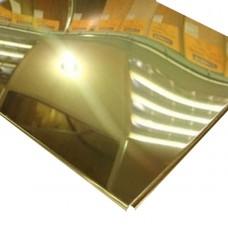 Кассетный потолок AP600 Line суперзолото А102