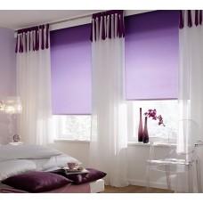 Миниролло однотонные фиолетовые
