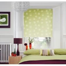 Миниролло с принтом одуванчик зеленый