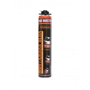 Пена монтажная «BAU MASTER» профессиональная 750 мл с выходом 45 литров