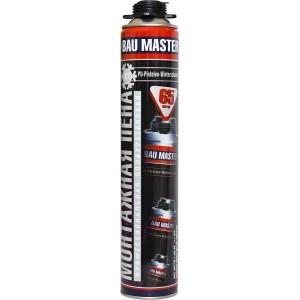 Пена монтажная «BAU MASTER» зимняя -18°C профессиональная с выходом 65 литров