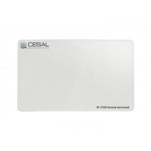 Потолок реечный Cesal Н-дизайн 3306 Белый матовый