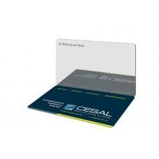Потолок реечный Cesal Н-дизайн A08 Хром Люкс