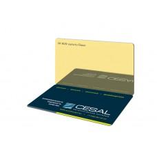 Потолок реечный Cesal Н-дизайн A09 Золото Люкс