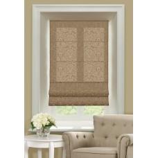 Римские шторы Эмоджи коричневые