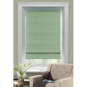 Римские шторы Линза зелёные