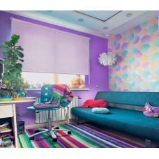 Рулонные шторы фиолетовые