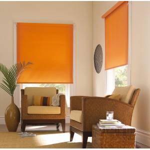 Рулонные шторы апельсин