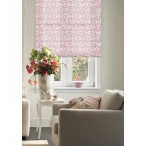 Рулонные шторы Бабочки розовые