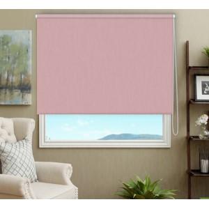 Рулонные шторы Blackout розовый кварц