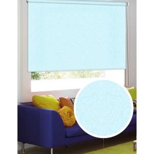 Рулонные шторы LUXE Имани голубые
