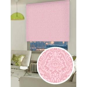 Рулонные шторы LUXE Имани розовые