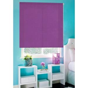 Рулонные шторы LUXE Рояль фиолетовые