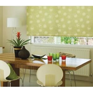 Рулонные шторы Одуванчик зеленый