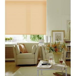 Рулонные шторы светлый абрикос