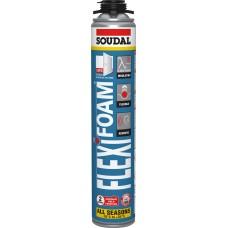 Пена монтажная SOUDAL Flexifoam с низким расширением / 750 мл