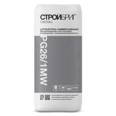Гипсовая штукатурка белая ГИПЛАН PG26/1 MW