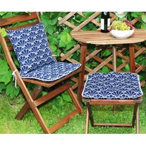 Сидушка на стул Blue Garden