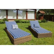 Подушка на шезлонг Blue Garden