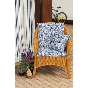 Подушка на стул со спинкой Blue  Palma