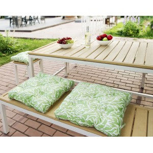 Подушка на стул Green Corals - S