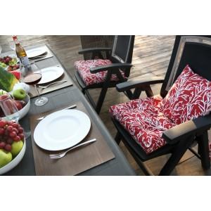 Подушка на стул Red Corals - S